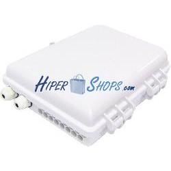 Caja de conexiones para fibra óptica de 16 puertos IP69