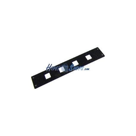 Subpanel de fibra óptica de 4 SC