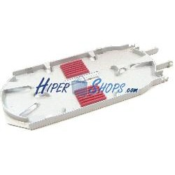 Cassette organizador de fibra óptica de 12 fibras G