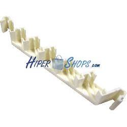 Subpanel 6 de puertos de fibra óptica de 6 SC