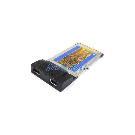 Tarjeta CARDBUS FireWire 400 IEEE 1394 (2-Port)
