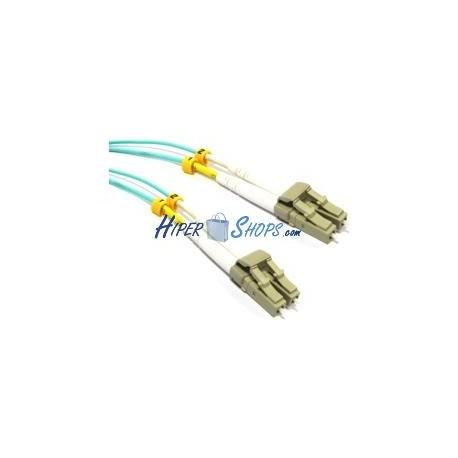 Cable OM3 de fibra óptica de LC a LC multimodo duplex 50/125 3m