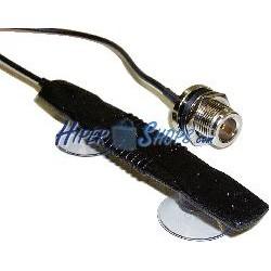 Antena 3G UMTS GPRS con conector N y fijación por ventosa