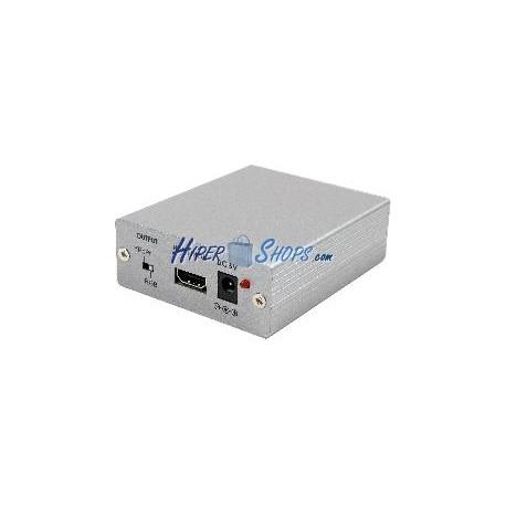 Conversor de HDMI a VGA y vídeo por componentes YPbPr