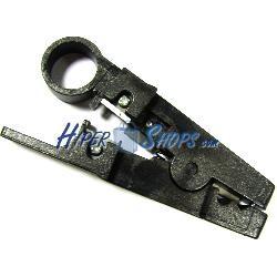Herramienta peladora y cortadora de cable de red y telefónico