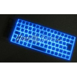 Teclado flexible USB y PS2 de 85 teclas retro-iluminado y blanco