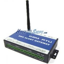 Control remoto por GSM (8xDI + 8xDO + 4xADI + 1xRS232)