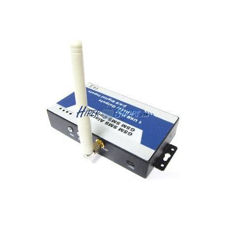 Control remoto por GSM de 4 entradas y 2 salidas digitales