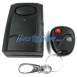 Alarma con sensor de vibración básico