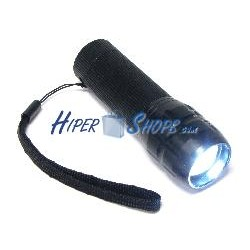 Linterna LED super alto brillo y alcance 100m