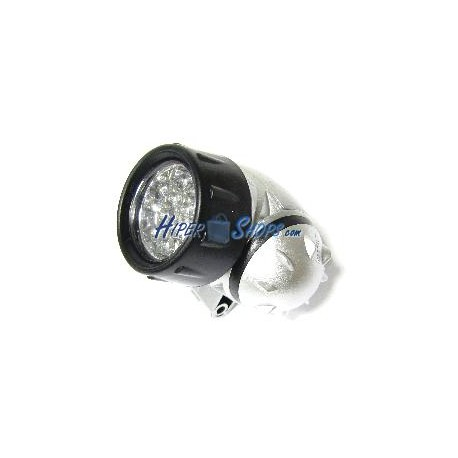 Linterna frontal de 10 LED de alto brillo