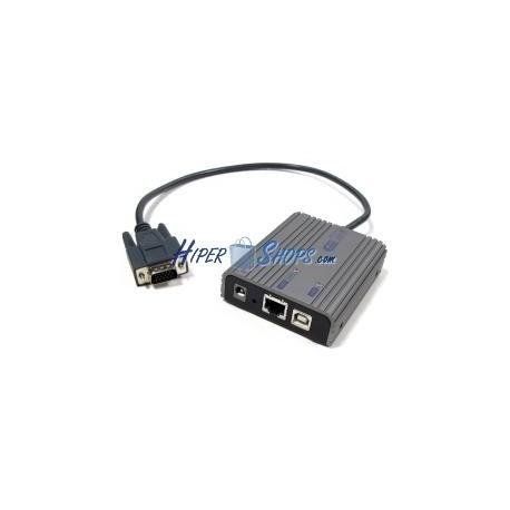 Extensor de vídeo sobre LAN para VGA de 1600x1200 Rextron xtraViU prolongador