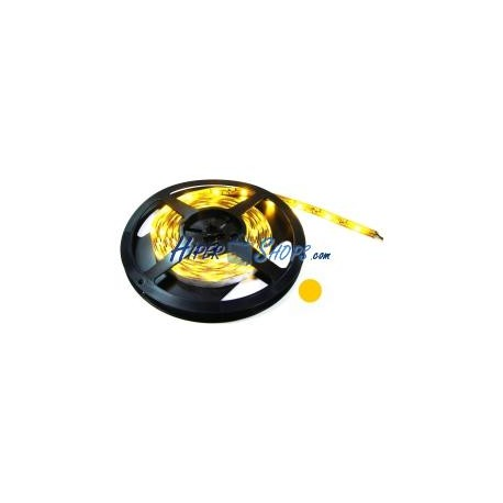 Tira de LEDs flexible 13 lm/led 60 led/m de 5m amarillo