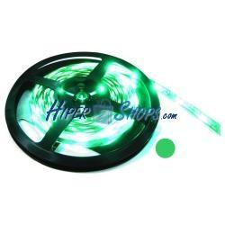 Tira de LEDs flexible 13 lm/led 60 led/m de 5m verde