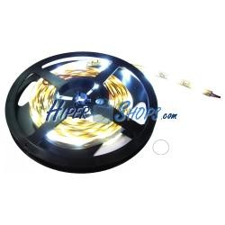 Tira de LEDs flexible 13 lm/led 60 led/m de 5m IP44 blanco intenso