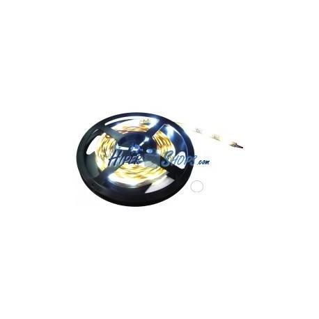 Tira de LEDs flexible 13 lm/led 60 led/m de 5m IP44 blanco intenso