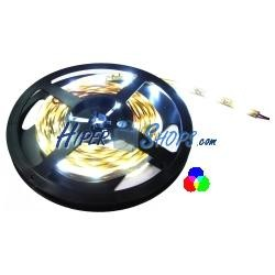 Tira de LEDs flexible 13 lm/led 60 led/m de 5m IP44 RGB