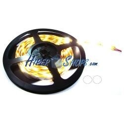 Tira de LEDs flexible 13 lm/led 60 led/m de 5m IP65 blanco calido