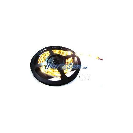 Tira de LEDs flexible 6.5 lm/led 60 led/m de 5m IP44 blanco neutro
