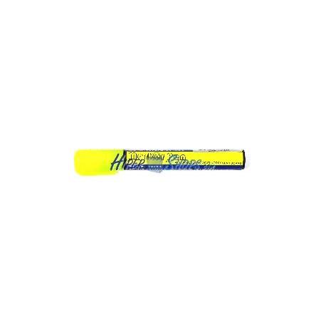 Rotulador fino para pizarra LED de DisplayMatic de color amarillo