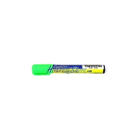 Rotulador fino para pizarra LED de DisplayMatic de color verde