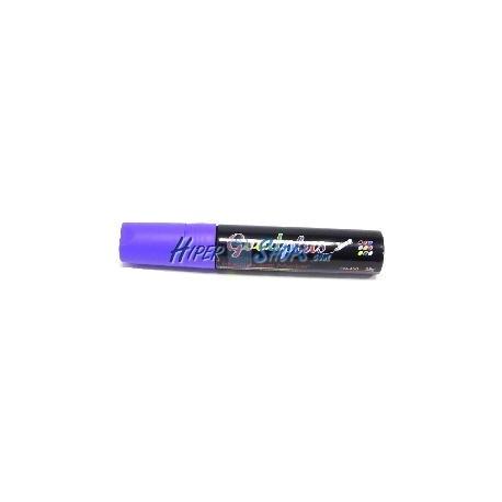 Rotulador super grueso pizarra LED DisplayMatic de color púrpura