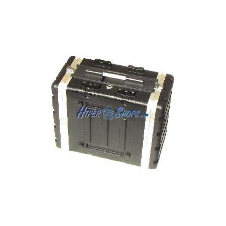 Flight Case de plástico rack 19 6U RackMatic