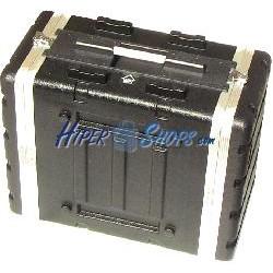 Flight Case de plástico rack 19 8U RackMatic
