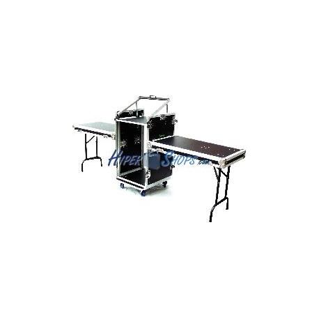Mesa de control audiovisual rack 19 16U RackMatic