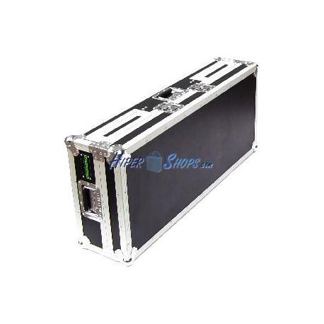 Mesa DJ tipo cofre para 2 CD y mezclador de RackMatic