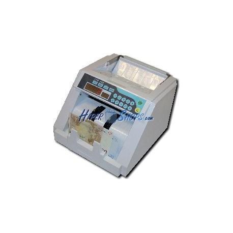 Contador de billetes y detector de billetes falsos con detección UV