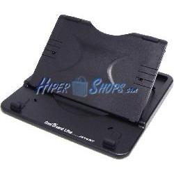 Soporte y elevador plegable para Tablet iPad y eBook de color negro