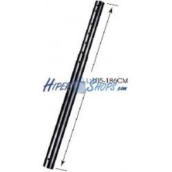 Mástil extensible para soporte de techo de 105 cm a 186 cm (ACC-819)