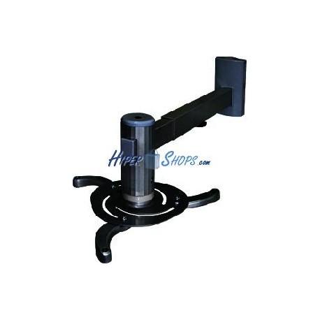 Soporte de pared para proyector de brazo redondo de 48 cm a 66 cm