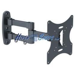 Soporte de pared con brazo doble para monitor de 10&quot- a 32&quot-