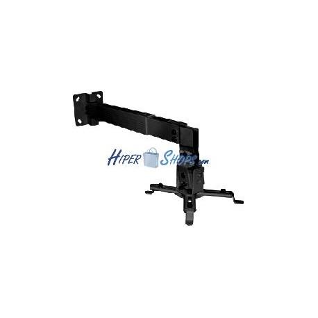 Soporte de pared para proyector de brazo cuadrado de 43 cm a 65 cm