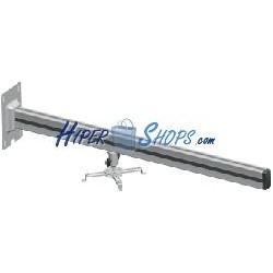 Soporte de pared para proyector de brazo cuadrado de 13 cm a 100 cm