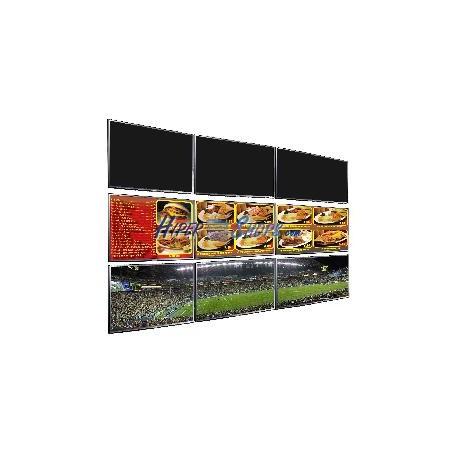 Soporte TV videowall horizontal a pared de 36cm