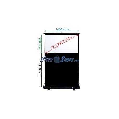 Pantalla de proyección portátil de 1600x900mm 16:9 DisplayMATIC