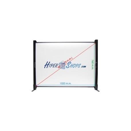 Pantalla de proyección portátil de mesa de 1020x760mm 4:3 DisplayMATIC