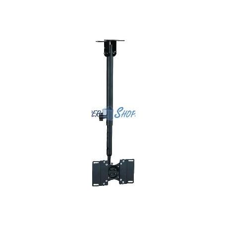Soporte de techo para pantalla plana VESA 75x75 100x100 100x200 200x200mm para TV 13&quot--37&quot-