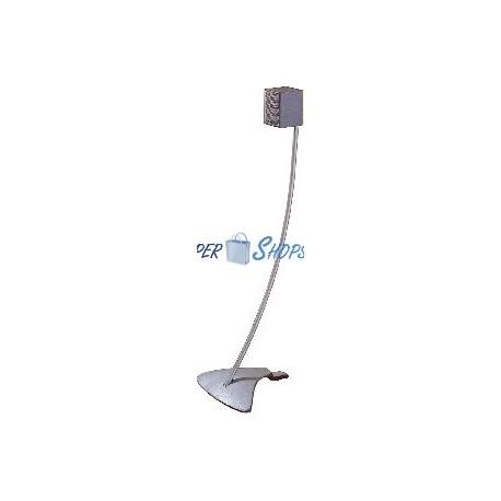 Soporte Pie Altavoz M4-M5 (SUR-104) Plata
