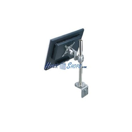 Brazo de monitor articulado VESA75 VESA100 para pantalla TV plana LCD en mástil