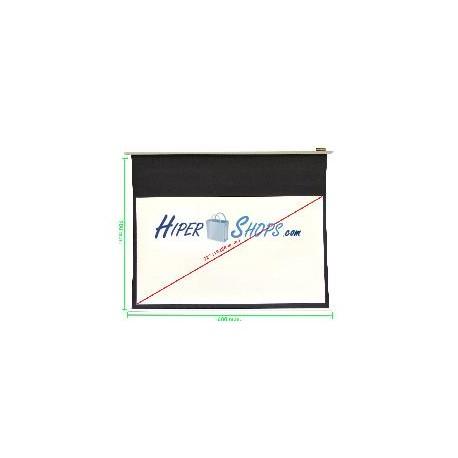 Pantalla de proyección de pared blanca 1520x855mm 16:9 DisplayMATIC