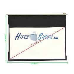 Pantalla de proyección de pared blanca 2550x1435mm 16:9 DisplayMATIC