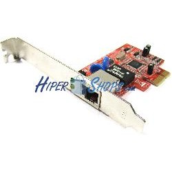 Tarjeta PCI-Express Ethernet Gigabit 10/100/1000Base-TX (1xRJ45)