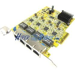 Tarjeta PCI-Express Ethernet Gigabit 10/100/1000Base-Tx (4xRJ45)