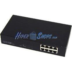 Poe-Switch 10/100Mbps IEEE802.3af (8PoE)