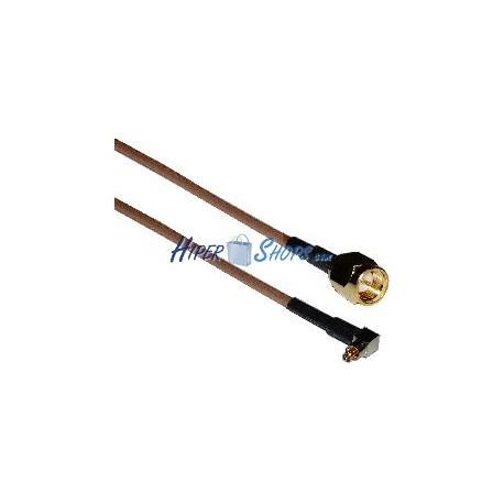 Cable RG-316 20cm (Lucent MC-Card Macho / SMA-Macho)