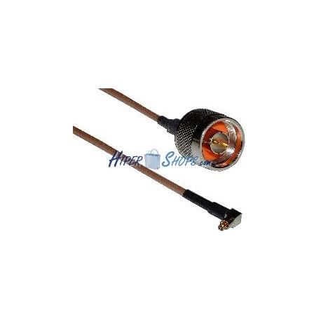 Cable RG-316 20cm (Lucent MC-Card Macho / N-Macho)